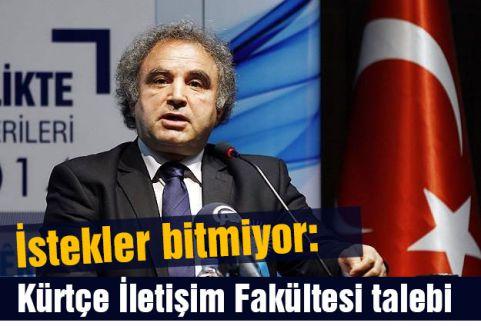 Şimdi de  Kürtçe İletişim Fakültesi...