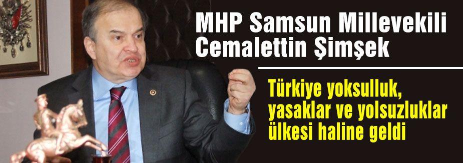 Şimşek; Türkiye bir yolsuzluk ülkesi haline geldi