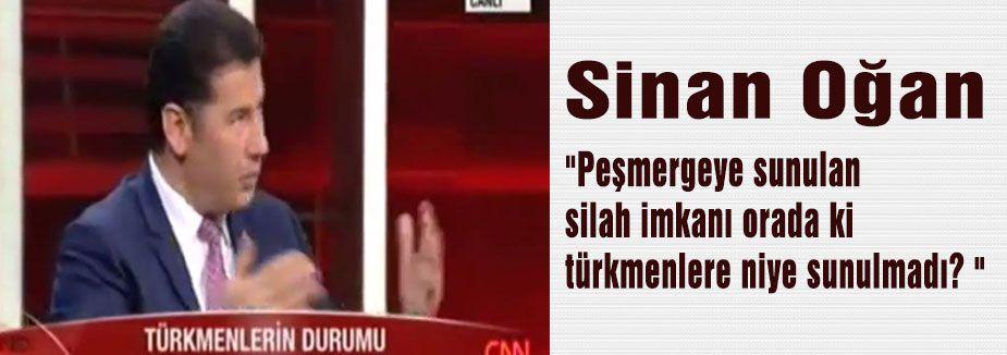 Sinan Oğan, Irak Türkmenleri Sahipsiz Bırakıldı