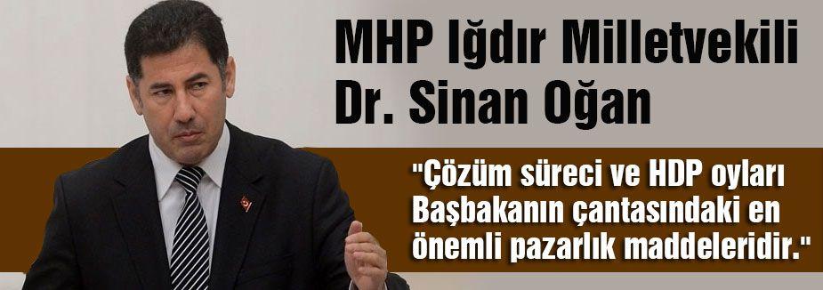 Sinan Oğan:'O bölgede silahlar hiç susmadı!'
