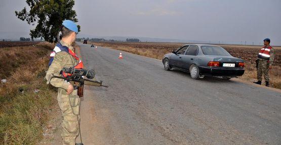 Sınırda Suriyelilere müdahale