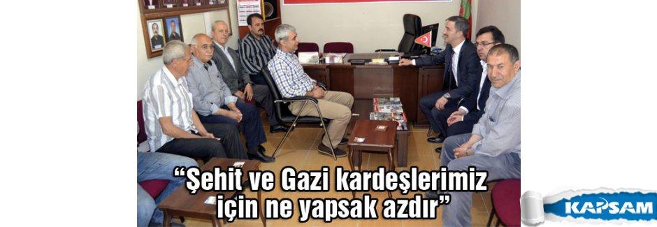 """Şirin; """"Şehit ve Gazi kardeşlerimiz için ne yapsak azdır"""""""