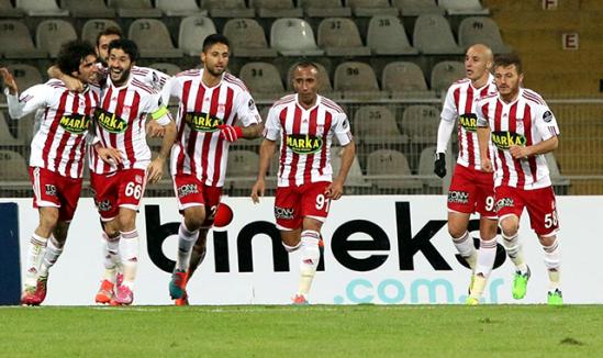Sivasspor: 1 - SAİ Kayseri Erciyesspor: 1
