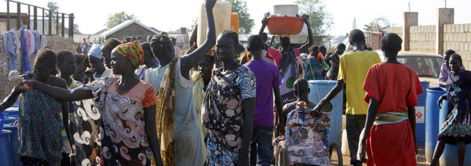 Siviller BM kampına sığınıyor...