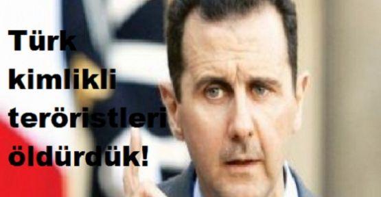Sivilleri değil Türk kimlikli teröristleri öldürdük!