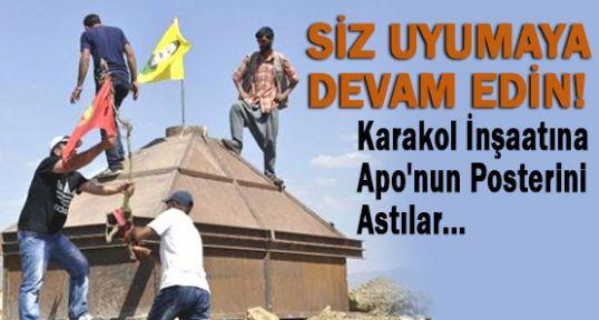 SİZ İNKAR EDİN! PKK-BDP BAYRAK ASSIN...