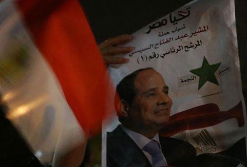 Sonucu belli seçimi Sisi aldı...