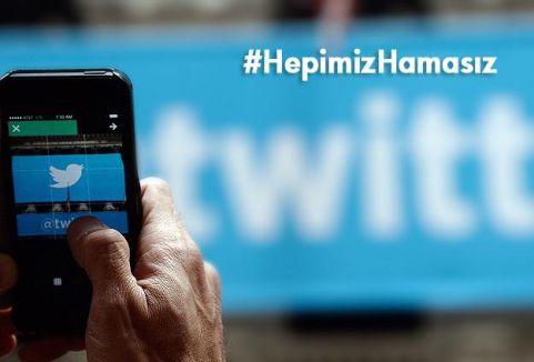 Sosyal medyada Hamas'a destek...