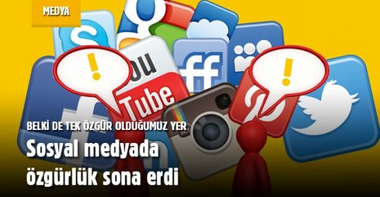 Sosyal Medyadaki Özgürlük Son Buluyor...