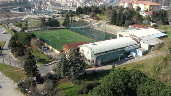 Spor kompleksinde tahliye tartışması
