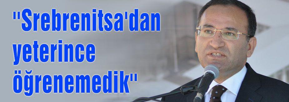 ''Srebrenitsa bir ibret üniversitesidir''
