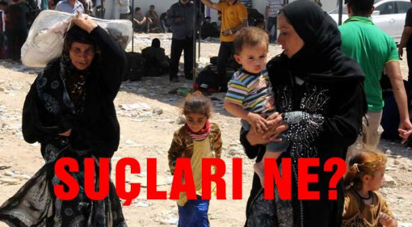 Suçları Türkmen olmak mı?