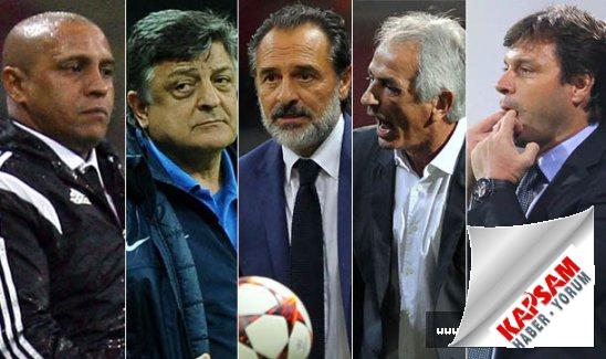 Süper Lig'de teknik direktör değişiklik rekoru kırıldı