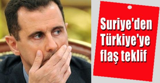 """Suriye: """"Direkt Diyalog Kurmaya Hazırız"""""""