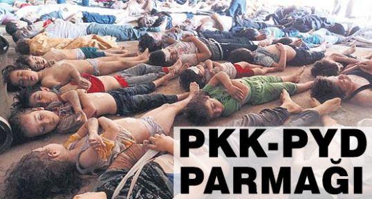 Suriye Katliamında PKK-PYD Parmağı var