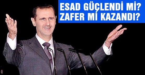 Suriye rejimi zafer ilan etti