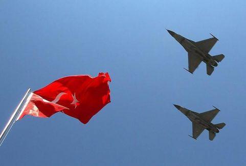 Suriye sınırında F-16'lar havalandı...