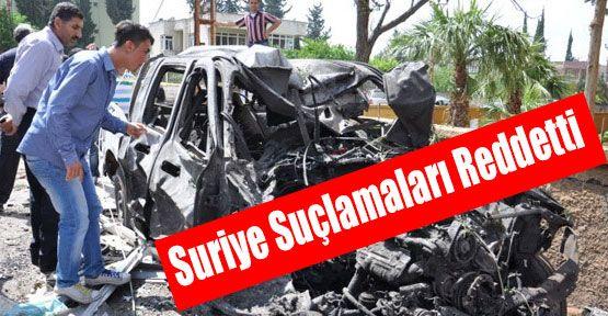 Suriye Suçlamaları Reddetti