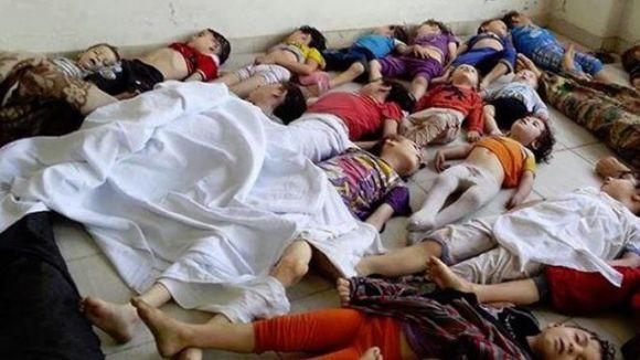 Suriye'de 140 bin kişi öldü