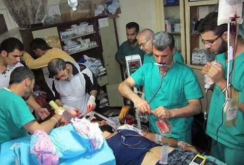 Suriye'de 327 sağlık görevlisi öldü