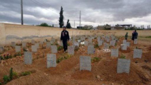 Suriye'de 93 Bin Kişi Öldü