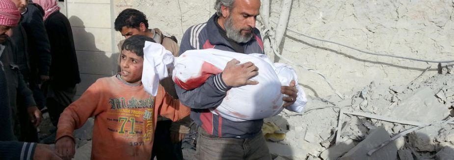 Suriye'de aığır bilanço