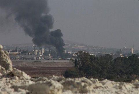 Suriye'de füzeli saldırı..