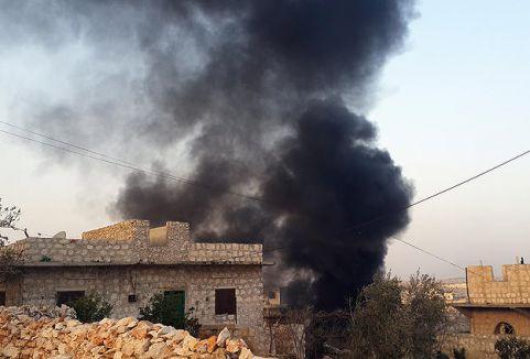 Suriye'de hava saldırısı...