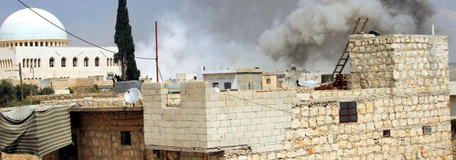 Suriye'de iç savaş...