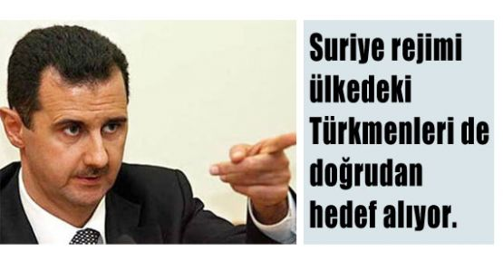 Suriye'de Türkmenler Hedefte