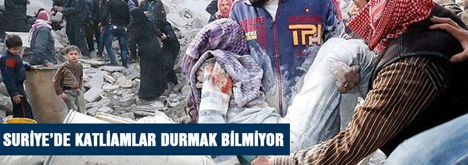 Suriye'de yeni katliam...