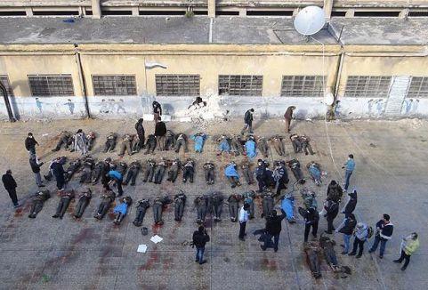 Suriye'deki vahşetin fotoğrafları BMGK'da...