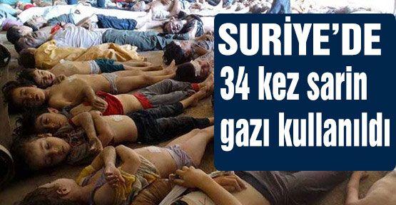 """Suriyeli Komutan: """"34  kez kimyasal kullanıldı"""""""
