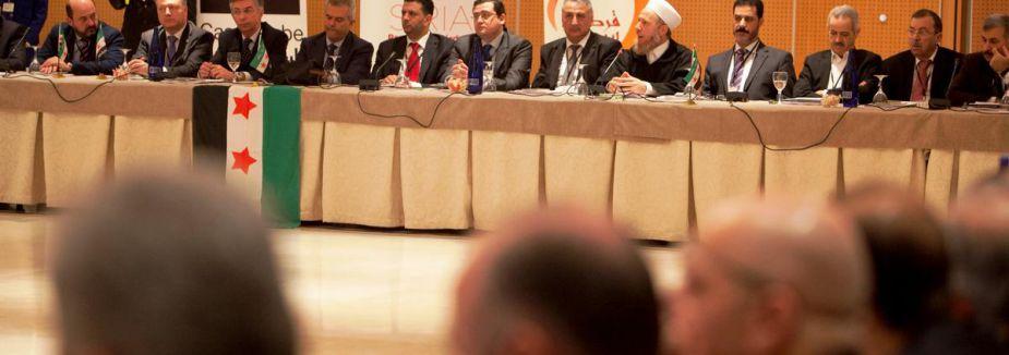 Suriyeli muhalifler toplandı...