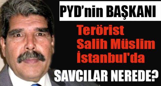 Suriyeli terörist İstanbul'da