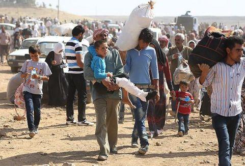 Suriyeliler yakınlarının yanına yerleşiyor