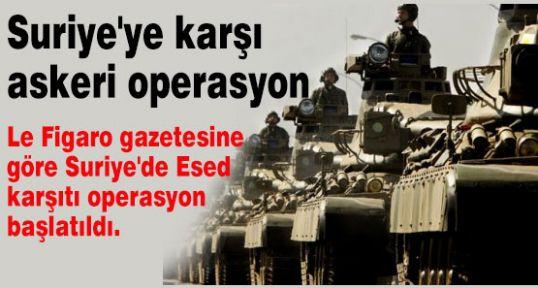 Suriye'ye operasyon