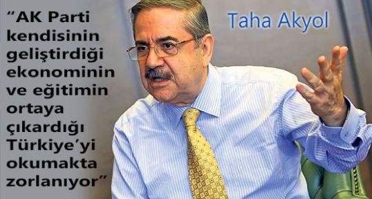 Taha Akyol; AK Parti yeni Türkiye'yi okuyamıyor