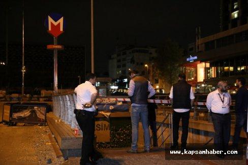 Taksim Metrosu'nda şüpheli paket paniği