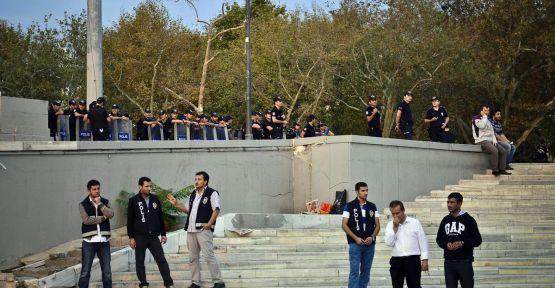 Taksim'de izinsiz gösteri