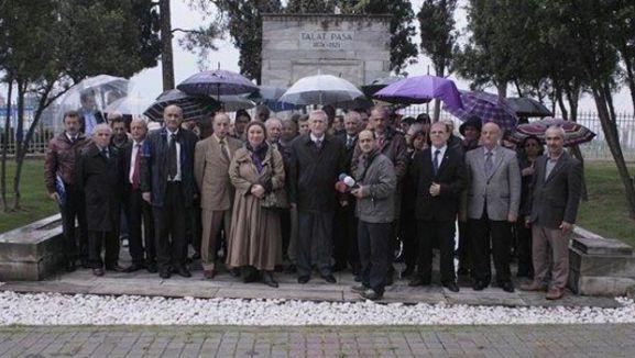 Talat Paşa anıldı