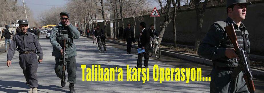 Taliban'a karşı Operasyon...