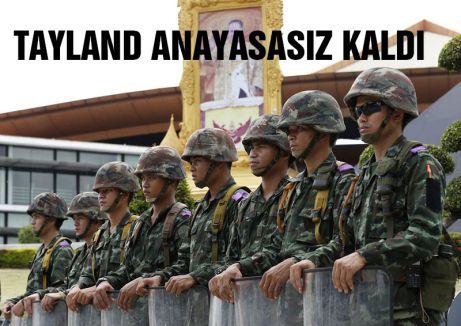 Tayland'da anayasa yok artık