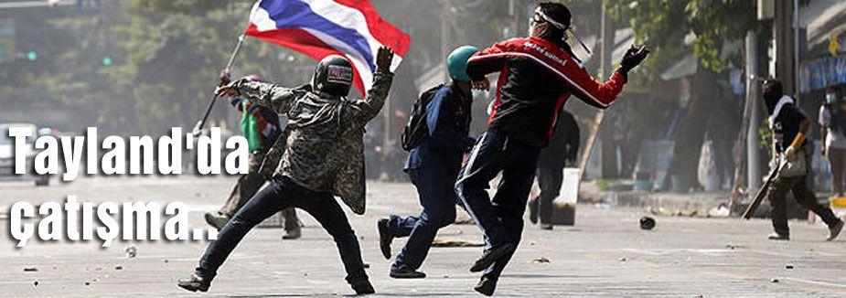 Tayland'da Çatışma...
