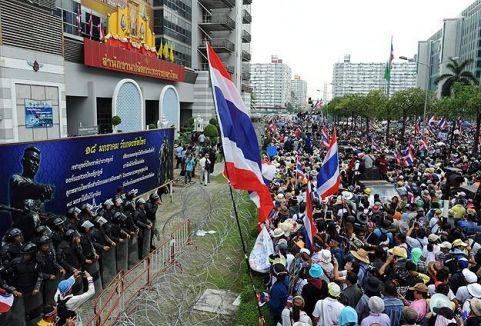 Tayland'da gizemli savaşçılar...