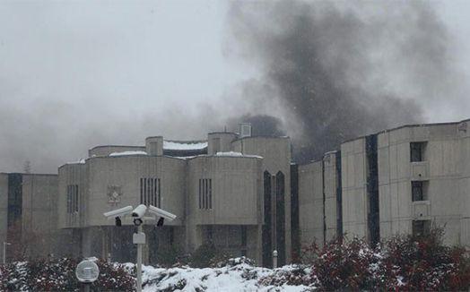 TBMM'de siyah duman paniği yaşandı