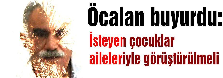 Tek umudumuz Öcalan (!)