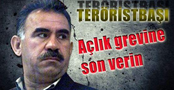 Teröristbaşı:'Açlık Grevine Son Verin'