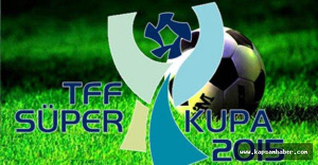 TFF Süper Kupa 2015'in oynanacağı şehir ve stat belli oldu