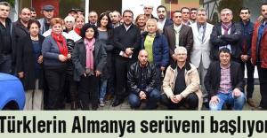 Türklerin Almanya serüveni başlıyor